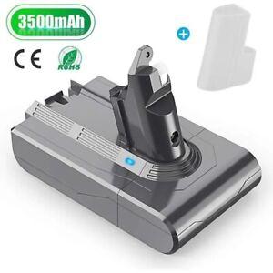 21.6V 3500mAh Batterie pour Dyson V6 DC62 DC59 DC58 Animal Aspirateur à Main