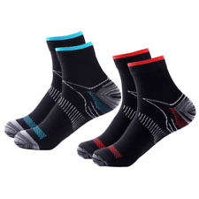 Compression Socks Arch Ankle Running Support Mens Women Plantar Fasciitis  S-XL