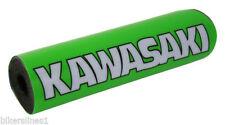 Guidons, poignées et leviers vert pour motocyclette Kawasaki
