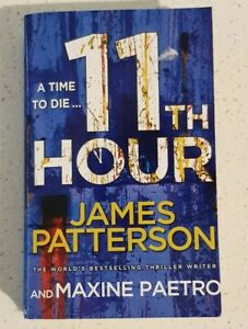 11th Hour By James Patterson Women's Murder Club Series #11 Small Pb
