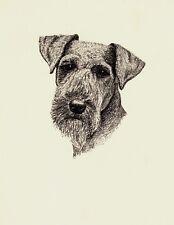 1935 Antique Welsh Terrier Print Vintage Pet Art Gift for Dog Lover Cfw 3194