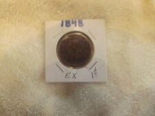 1848 1C Bn Braided Hair Cent