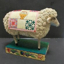 Jim Shore Peace in the Valley Sheep Figurine Heartwood Creek 2003 V117141
