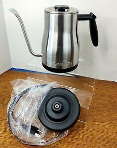 Bodum Bistro Gooseneck 34 oz Stainless Steel Water Kettle New in Box