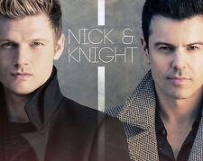 Nick Carter and Jordan Knight Glossy 8x10 Photo 1