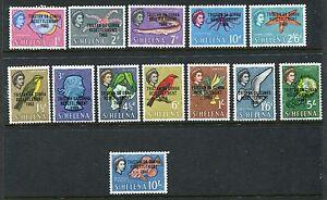 TRISTAN DA CUNHA 1963 QEII Definitives RESETTLEMENT MNH Set SG 55-67 13 Stamps