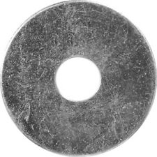 "1/4 X 1-1/2"" Fender washer Zinc 25 Pcs"
