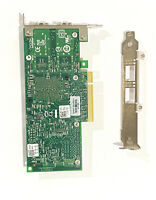 Dell 0942V6 942V6 INTEL X520-DA2 Server Adapter 10 Gbps Dual Port  Both Brackets