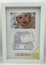 New Malden International Designs Baby Memories Baby Shadowbox Picture Frame 4x6""