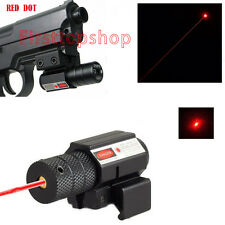 Hot Sale Red Dot Laser Sight Scope 20mm Picatinny Mount For Air Gun Pistol