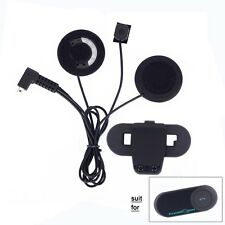Mic Headset Flex Wire+Clip Bracket For T-COM BT Moto Bluetooth Helmet Intercom