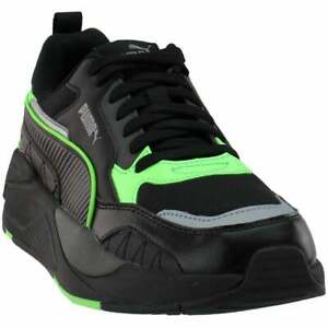 Puma X-Ray 2 Square Men's Running Shoes Black/Electric Green/Grey 373108 03