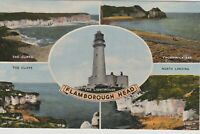 Yorkshire Vintage  Postcard - Flamborough Head