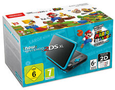 Nintendo NEW 2DS XL Nero/Turchese Console + Super Mario 3D Land Digital Download