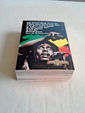 1995 BOB MARLEY CARD SET - 50 CARDS BY ISLAND VIBES