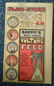 Popeye Playstore- SAPPO'S BEST GRADE VULTURE FEED (7-4-43)