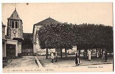 CPA 91 - DRAVEIL (Essonne) - 65. Place de l'Eglise - ND Phot - Coll. Diot.
