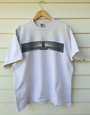 Vtg Nike Gray Tag OG Jordan Wings William Blake Quote T-Shirt USA XL *rare