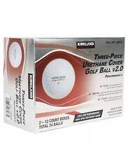 2021 NEW KIRKLAND SIGNATURE v2.0 Three-Piece Urethane Cover Golf Ball 2-dozen