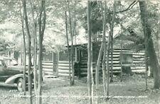 "Manistique MI "" Buck Horn""Minors Deer Path Lodge, Indian Lake RPPC"