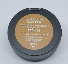 BareMinerals BarePro Teak 22 Performance Wear Powder Foundation 10 g/0.34oz NEW