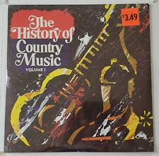 The History Of Country Music Volume 1 - Sealed Double Vinyl LP Set. Various