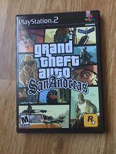 Grand Theft Auto San Andreas PS2 Sony PlayStation 2 Cib Game XP1