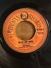 """Greyhound - Black and White / Sand in Your Shoes 7"""" Single 1971 VG+/VG"""