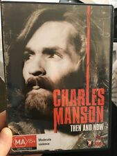 Charles Manson - Then And Now region 4 DVD (1992 documentary movie) * * RARE * *
