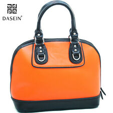 New Dasein Women Leather Briefcase Satchel Handbag Tote Bags Shoulder Bag Purse