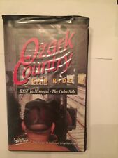 VHS Ozark Country Cab Ride BNSF in MO-Cuba Sub Pentrex Productions 1998 90 Min