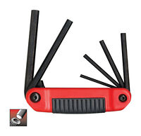 "Eklind Tool  5/32"" to 3/8""  SAE  Fold-Up  Hex Key Set  Multi-Size in. 6 pc."