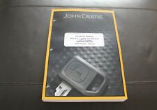 John Deere 244J 304J Loader Service Operation Test Manual Tm2206