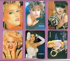 MADONNA Complete Calendar Cards Set; Mint Set of 12;  Music