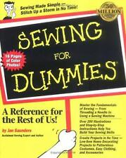 Sewing for Dummies by Jan Saunders