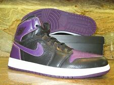UNRELEASED Nike Air Jordan 1 Retro High Promo Sample SZ 13 Black Night Purple PE