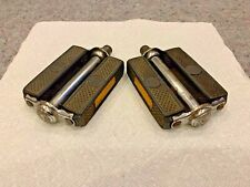 VINTAGE RALEIGH BICYCLE 9/16 PEDALS PAIR -MADE IN GERMANY-used