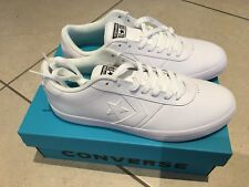 Converse Point Star All White RARE Unisex Trainers Sneakers pumps Size 7 Men's