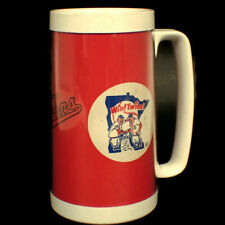 Vtg Minnesota Twins Baseball Thermo Serv Insulated Cup Beer Mug Souvenir Rare
