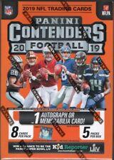 2019 Panini Contenders Football NFL Cards Blaster Box 1 Hit Per Box on average