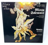2x Vinyl LP Musica Sacra in Rohr - Missa Solemnis für Soli, Chor, Orgel ... (K)