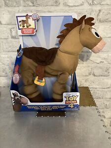 🐴 BNIB Disney Pixar Toy Story 4 Giddy-Up Bullseye Trotting Horse Toy🐴
