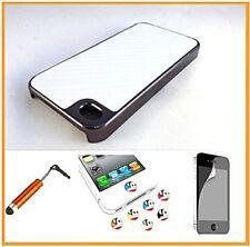 Fundas y carcasas Para iPhone 4s de color principal blanco de plástico para teléfonos móviles y PDAs