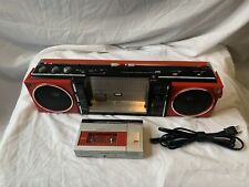 "JVC BOOM BOX RC-S55W ""ULTRA RARE"" W/ DETACHABLE FACE TAPE DECK-NICE CONDITION!"