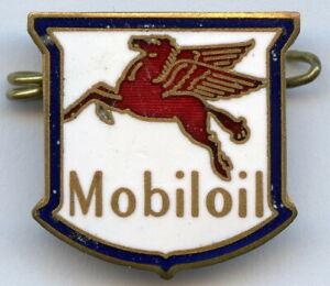 Vintage Motor Car Pegasus Mobiloil Advertising Enamel Badge Pin !!!
