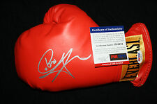 Carl Froch signed boxing glove, WBC, IBF, Ring, The Cobra, PSA/DNA