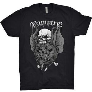 Vampire T Shirt Nosferatu Dracula Transylvania Romania Monster Halloween Gothic