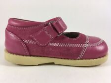 See Kai Run Clara Raspberry Pink Mary Jane Shoes Baby Toddler Girls Sz 5 Leather