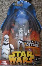 Star Wars La Venganza De Los Sith-Clone Trooper rápido Dibujar ataque Figura De Acción Nueva