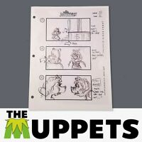 THE MUPPETS - Production Used Storyboard - Miss Piggy